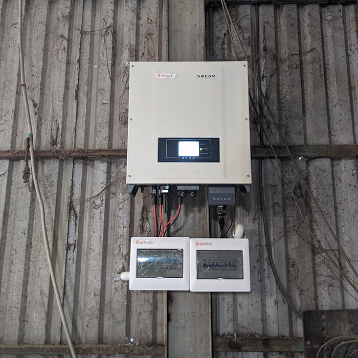Lắp đặt điện mặt mặt trời lần 2 cho Anh Kiệt ở Bình Chánh với 21KW 8