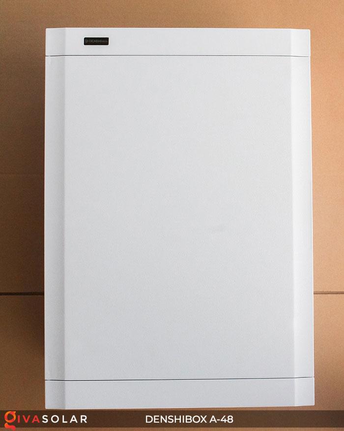 Tủ điện lắp năng lượng mặt trời Denshibox A-48 1