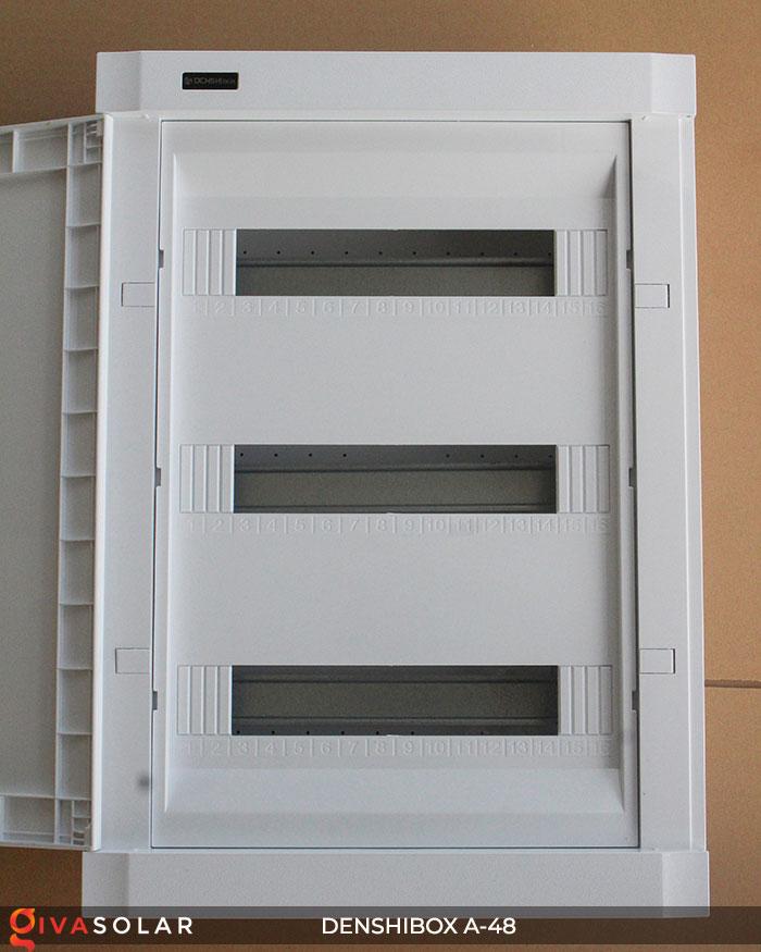 Tủ điện lắp năng lượng mặt trời Denshibox A-48 2