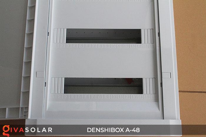 Tủ điện lắp năng lượng mặt trời Denshibox A-48 6
