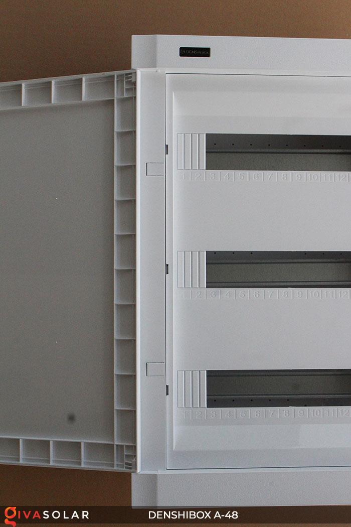 Tủ điện lắp năng lượng mặt trời Denshibox A-48 7