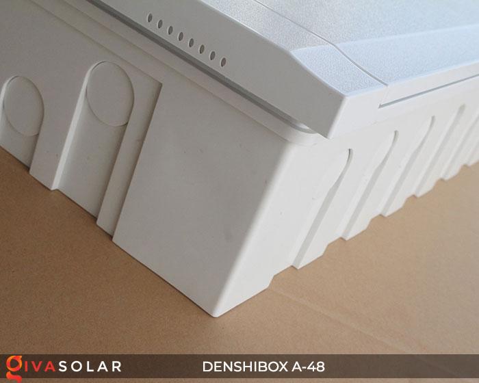 Tủ điện lắp năng lượng mặt trời Denshibox A-48 8