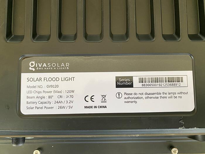 Đèn pha cao cấp năng lượng mặt trời 120W 11