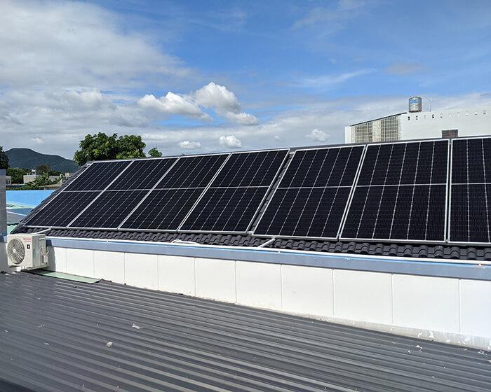 Dự án hòa lưới điện mặt trời 10KW cho anh Hùng ở BRVT 3