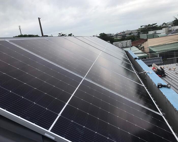 Dự án hòa lưới điện mặt trời 10KW cho anh Hùng ở BRVT 4