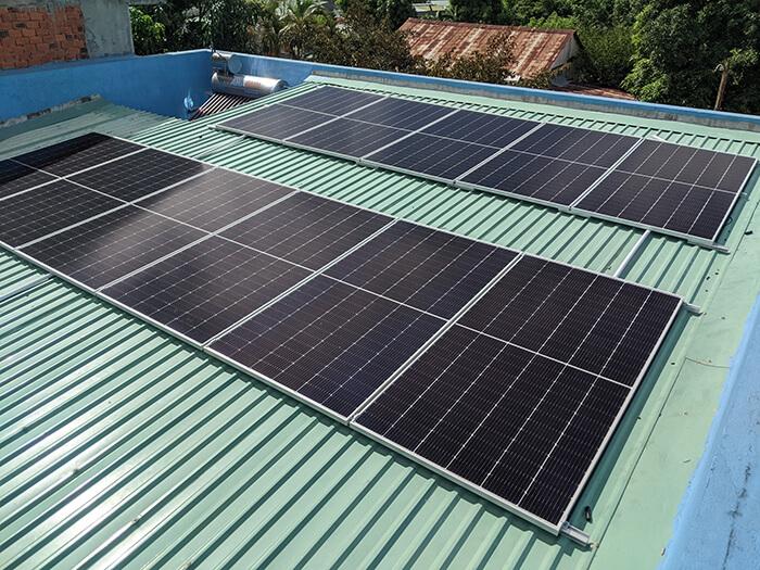 Dự án hòa lưới điện mặt trời 10KW cho anh Hùng ở BRVT 5