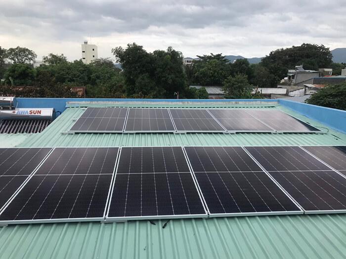 Dự án hòa lưới điện mặt trời 10KW cho anh Hùng ở BRVT 6