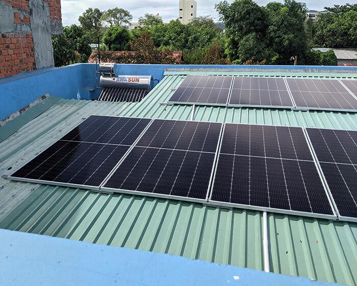 Dự án hòa lưới điện mặt trời 10KW cho anh Hùng ở BRVT 7