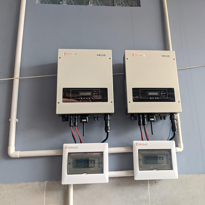 Dự án hòa lưới điện mặt trời 10KW cho anh Hùng ở BRVT 9