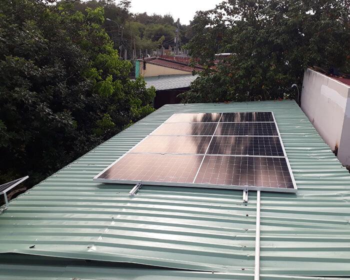 Dự án hòa lưới năng lượng mặt trời 15KW cho gia đình anh Sơn Củ Chi 3
