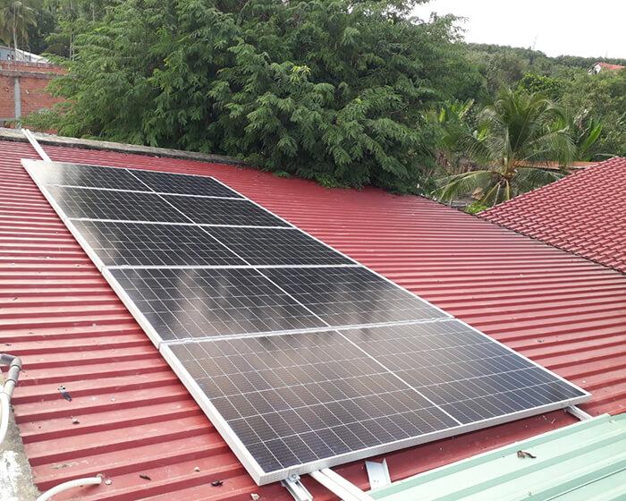 Dự án hòa lưới năng lượng mặt trời 15KW cho gia đình anh Sơn Củ Chi 5