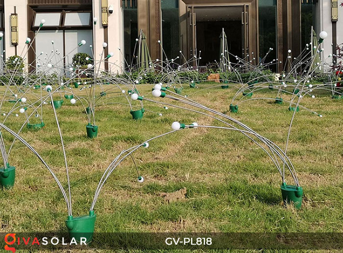 Cây đèn trang trí ngoài trời GV-PL818 10