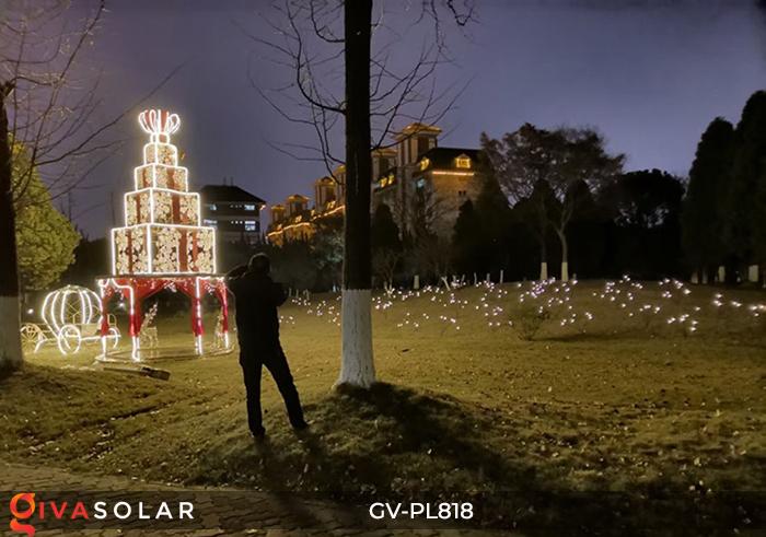Cây đèn trang trí ngoài trời GV-PL818 17