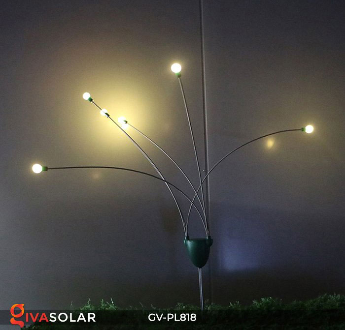 Cây đèn trang trí ngoài trời GV-PL818 8