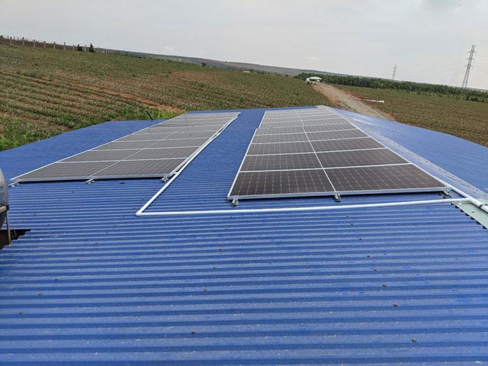 Hoàn thành dự án 10KW cho Công ty Chế Biến Nông Sản Bình Thuận 2