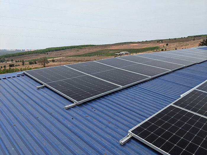 Hoàn thành dự án 10KW cho Công ty Chế Biến Nông Sản Bình Thuận 5