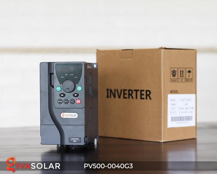 Inverter bơm nước năng lượng mặt trời 3 pha PV500-0040G3 4KW 1