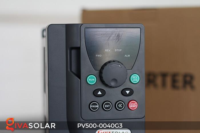 Inverter bơm nước năng lượng mặt trời 3 pha PV500-0040G3 4KW 5