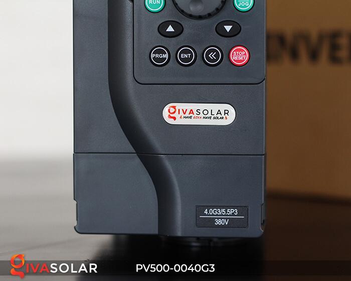 Inverter bơm nước năng lượng mặt trời 3 pha PV500-0040G3 4KW 6