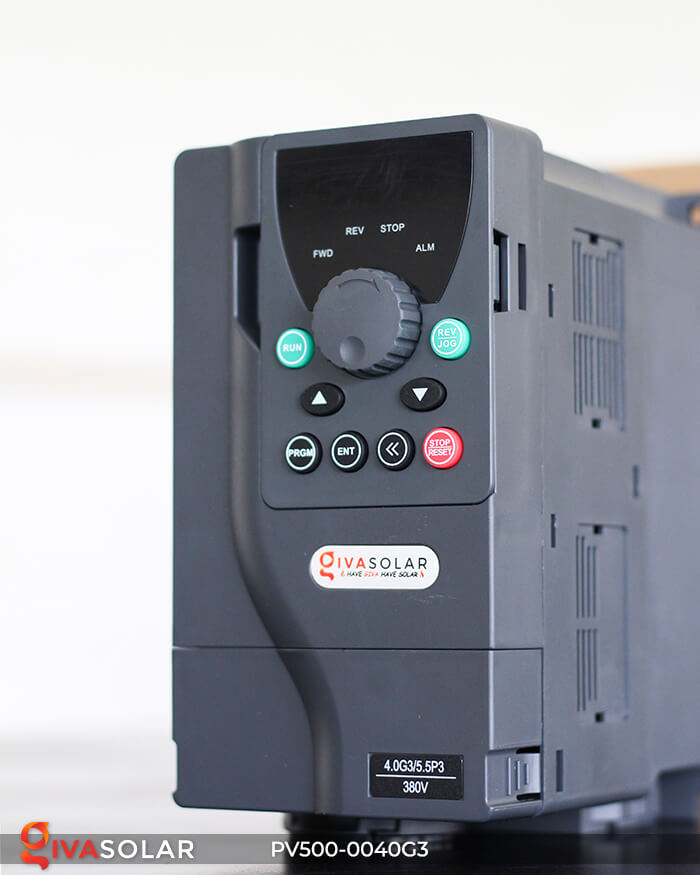 Inverter bơm nước năng lượng mặt trời 3 pha PV500-0040G3 4KW 7