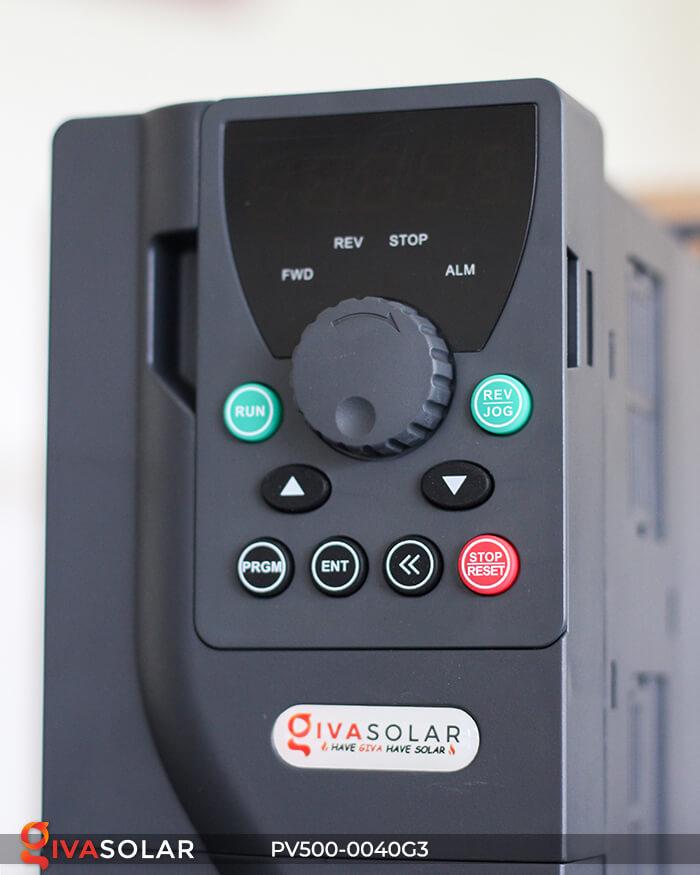 Inverter bơm nước năng lượng mặt trời 3 pha PV500-0040G3 4KW 8