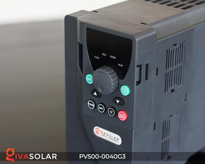 Inverter bơm nước năng lượng mặt trời 3 pha PV500-0040G3 4KW 9