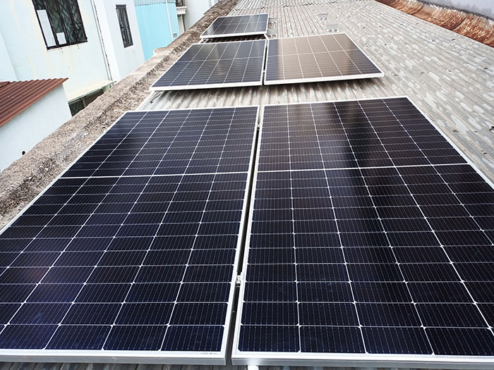 Dự án điện mặt trời hòa lưới bám tải 6KW cho anh Thiện ở Gò Vấp 6