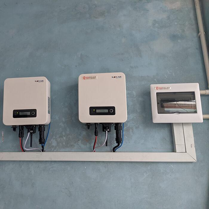 dự án hòa lưới điện mặt trời 7.5KW cho anh Khai ở Quận 9 10