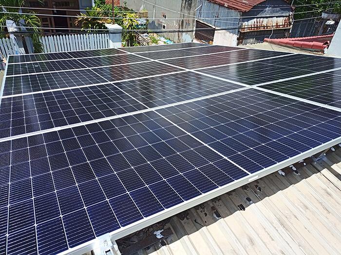 dự án hòa lưới điện mặt trời 7.5KW cho anh Khai ở Quận 9 2