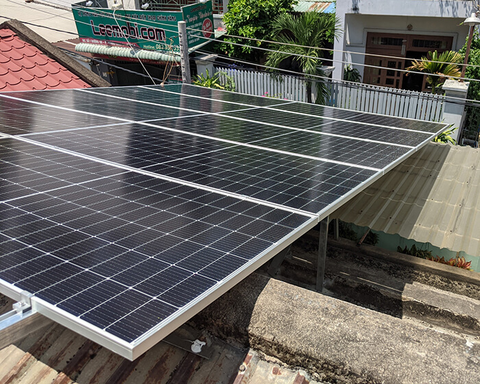 dự án hòa lưới điện mặt trời 7.5KW cho anh Khai ở Quận 9 4