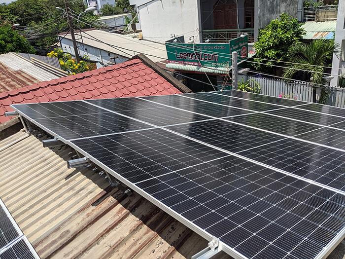 dự án hòa lưới điện mặt trời 7.5KW cho anh Khai ở Quận 9 5