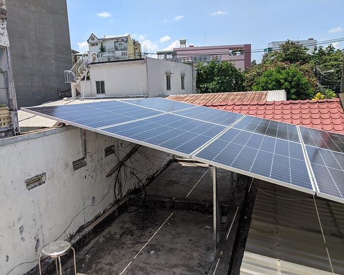 dự án hòa lưới điện mặt trời 7.5KW cho anh Khai ở Quận 9 6