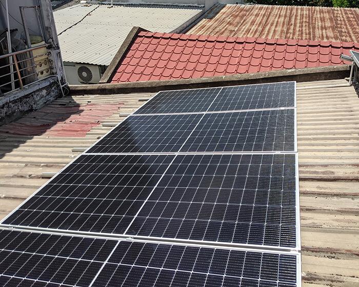 dự án hòa lưới điện mặt trời 7.5KW cho anh Khai ở Quận 9 7