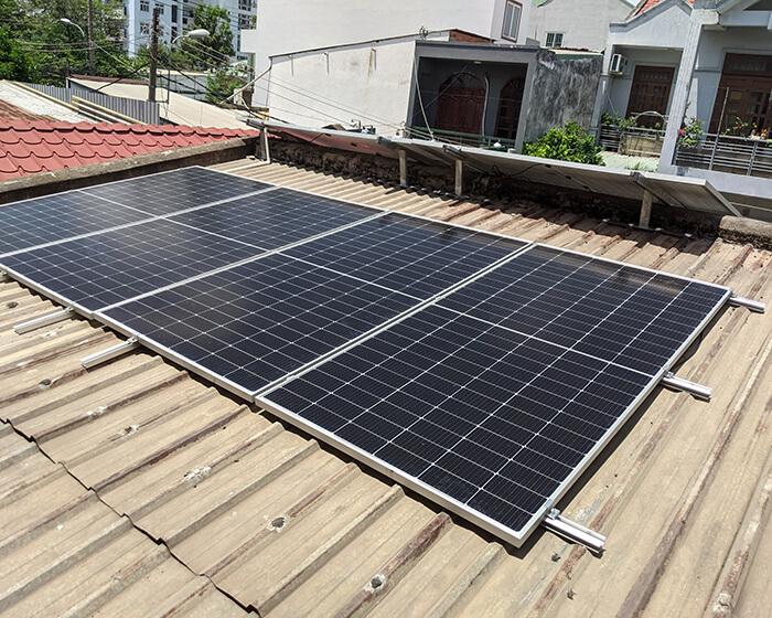 dự án hòa lưới điện mặt trời 7.5KW cho anh Khai ở Quận 9 8