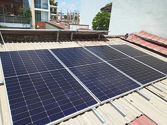 dự án hòa lưới điện mặt trời 7.5KW cho anh Khai ở Quận 9 9