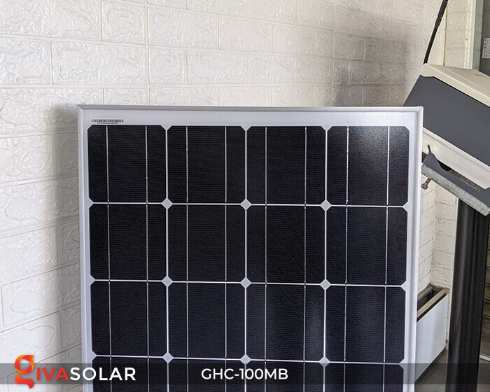 Tấm pin năng lượng mặt trời Mono 100W 8