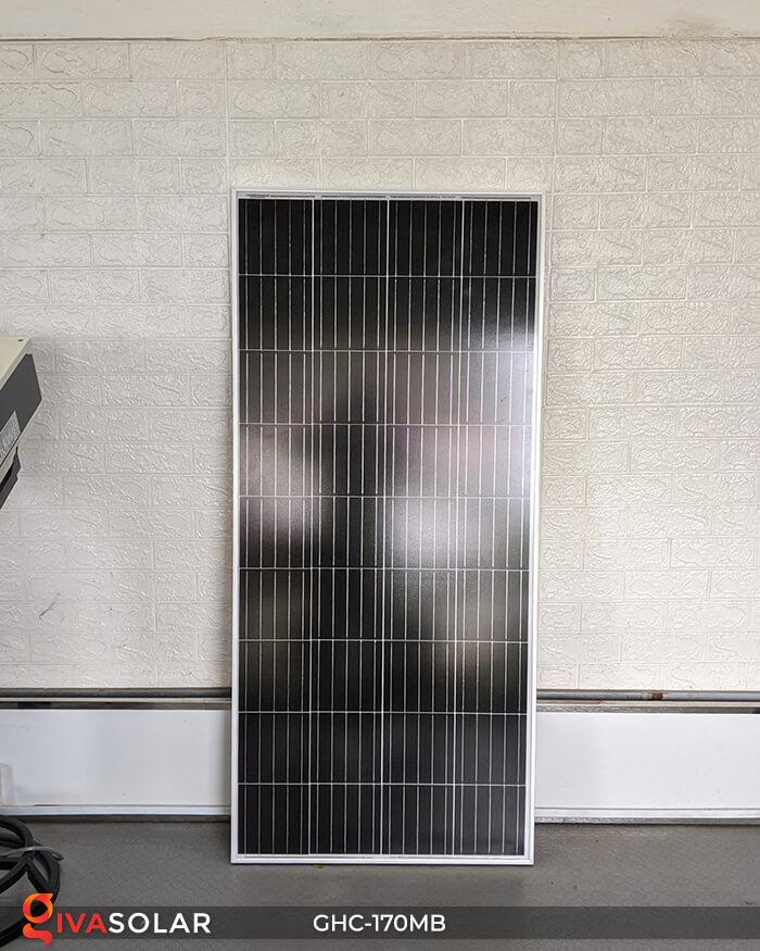 Pin mặt trời mono 170W 2