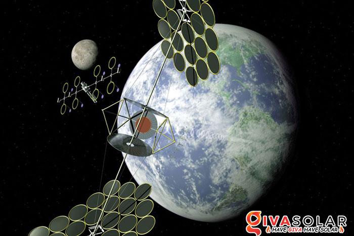 Năng lượng mặt trời dựa trên vũ trụ