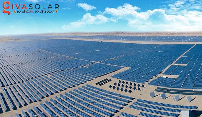 Công viên năng lượng mặt trời Hải Nam của Thủy điện Hoàng Hà